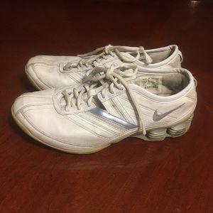 White Nike Shox Sneakers